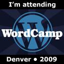 I'm Attending WordCamp Denver 2009