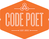 CodePoet-Logo-Single-orange