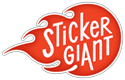 Sticker Giant Pikes Peak Sponsor Denver WordCamp 2013