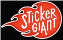 Sticker Giant Pikes Peak Sponsor Denver WordCamp 2013
